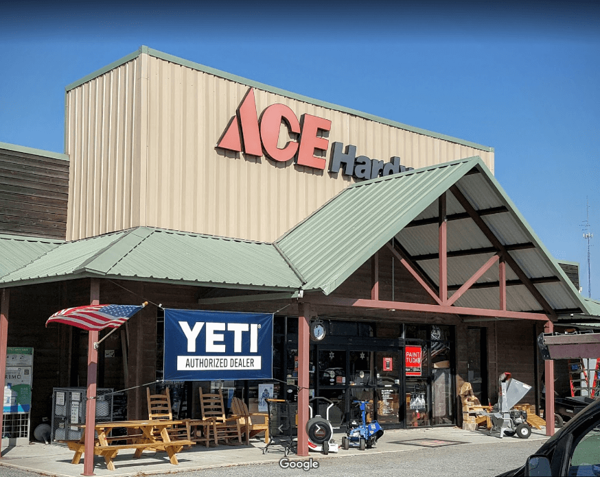 Ace Hardware And Rental Storefront